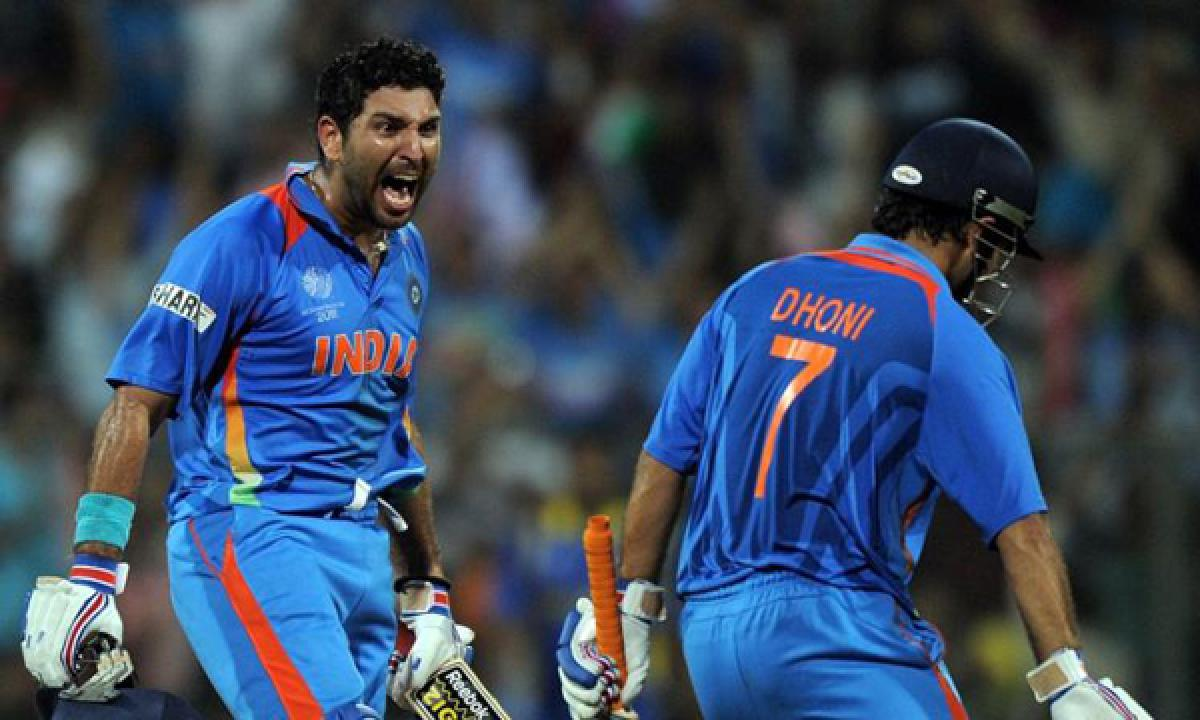 Watch: MS Dhoni tells Yuvraj Singh his future plans