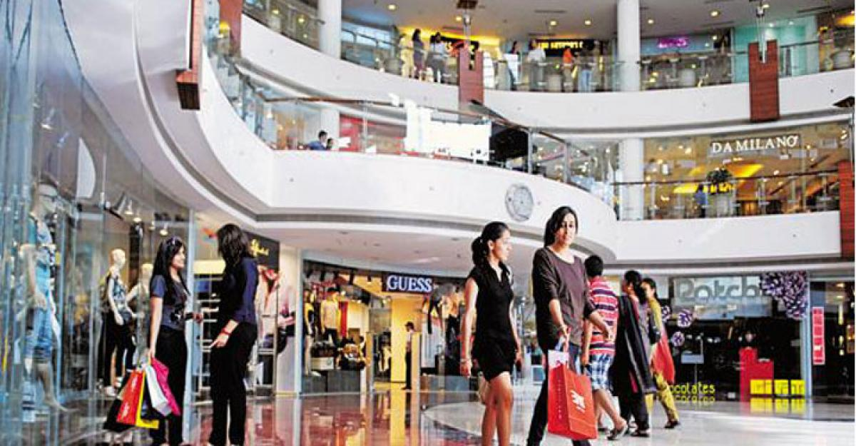 Early knell for mall-realty biz
