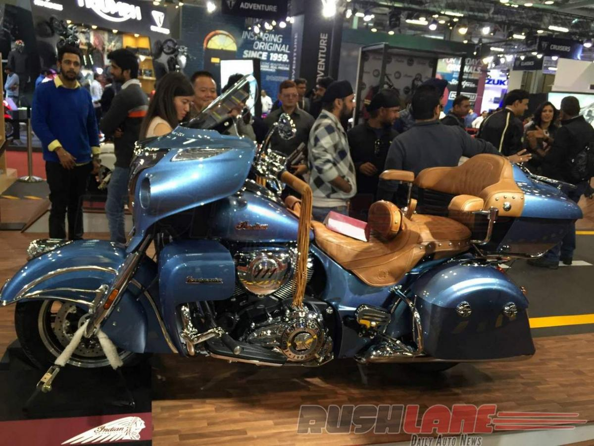Check out: Indian Roadmaster, Chief Classic Auto Expo 2016