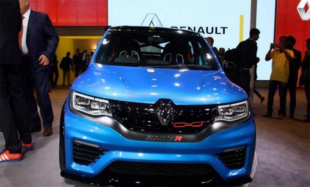 Auto Expo 2016 Renaut Kwid Climber, Kwid Racer concept features