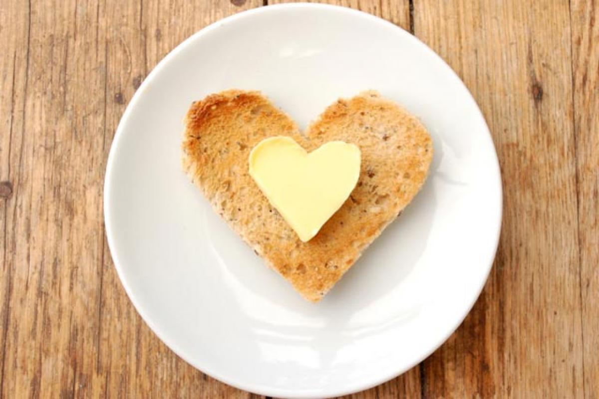 A little butter a day may not harm your heart