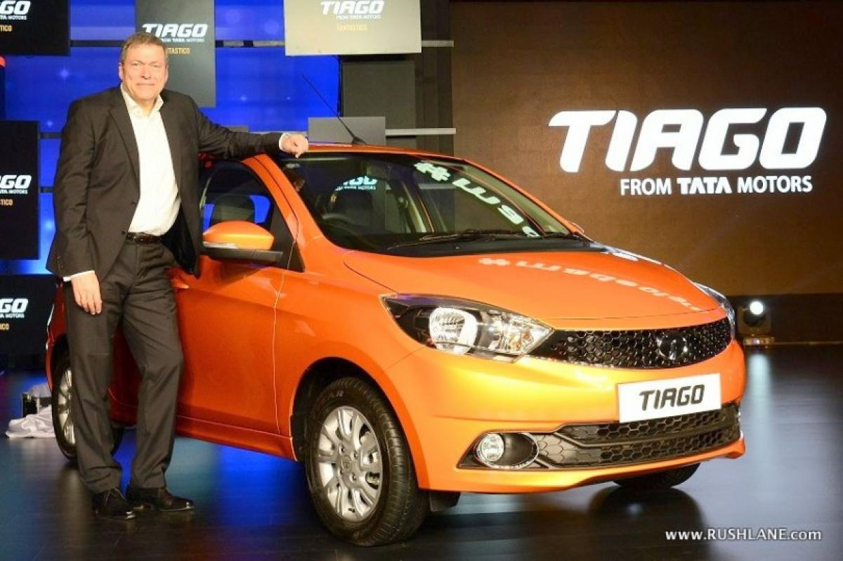 Tiago is best selling Tata car for April 2016