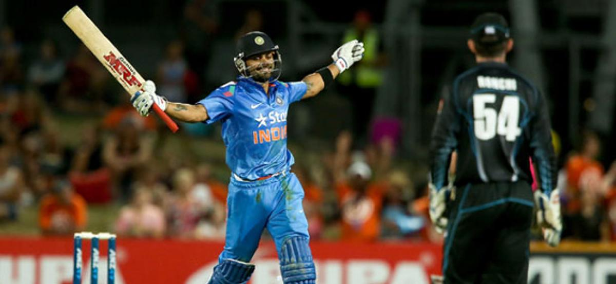 India beat New Zealand by 7 wickets in 3rd ODI