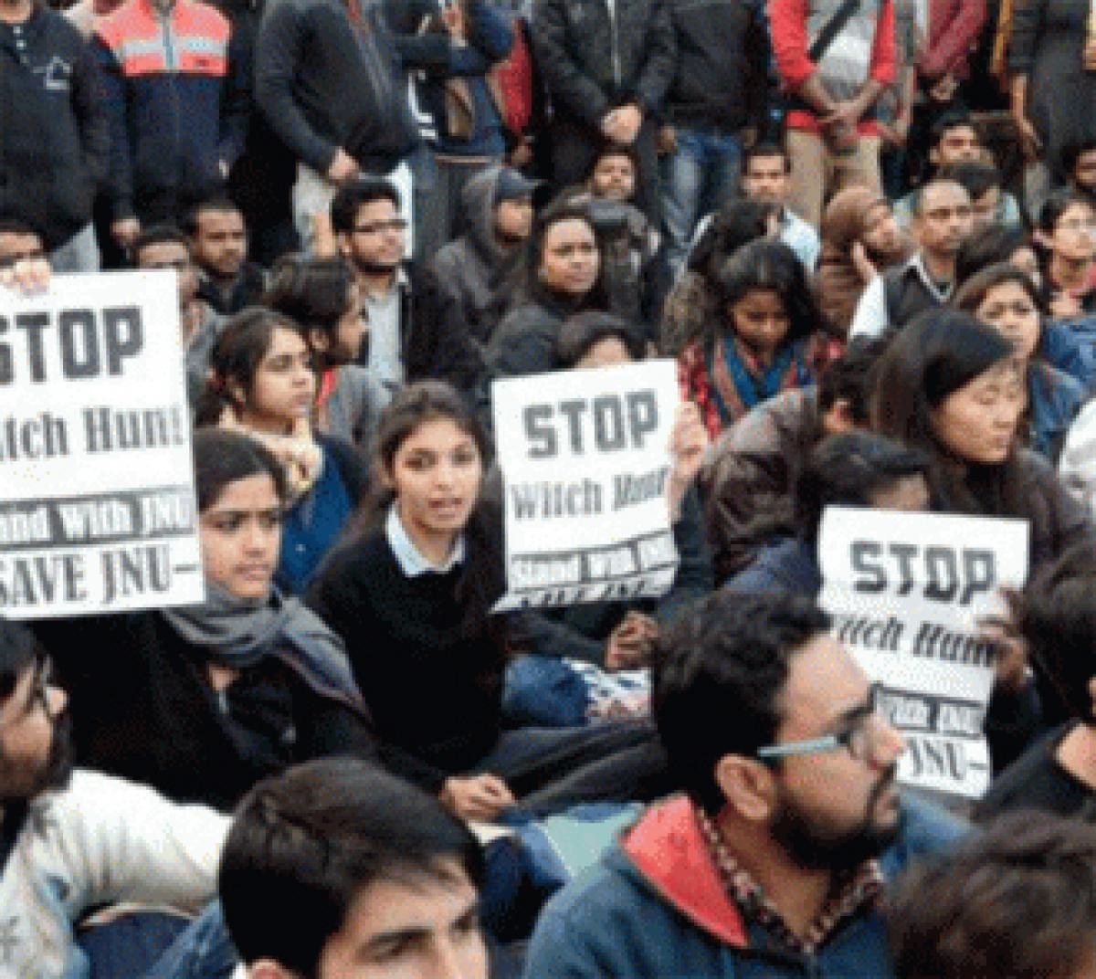 JNU students get support from Indian Americans