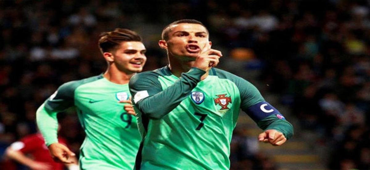 Cristiano Ronaldo fires; French lose