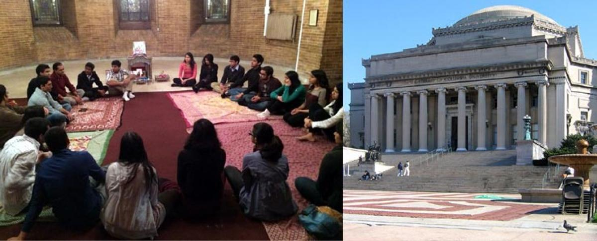 Exclusive Hindu Prayer Room sought at Columbia University
