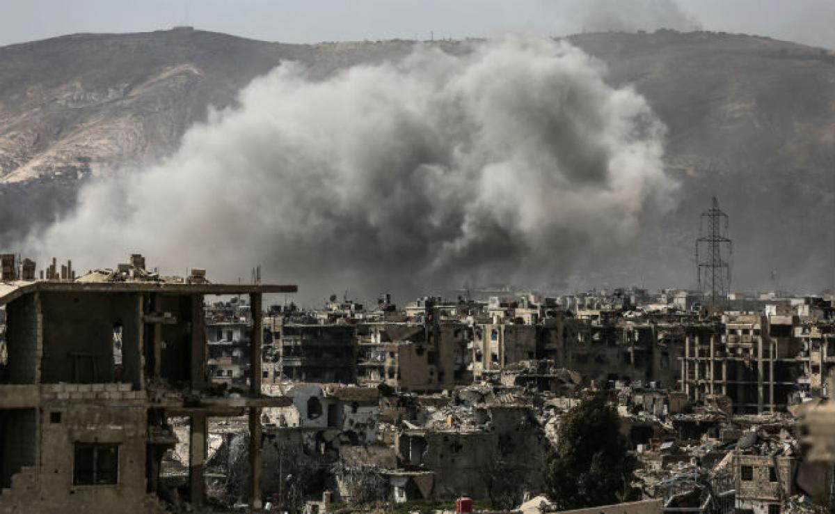 Clashes In Syrian Capital After Surprise Rebel Assault