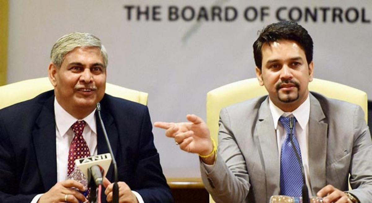 BCCI heads for tiff with Shashank Manohar