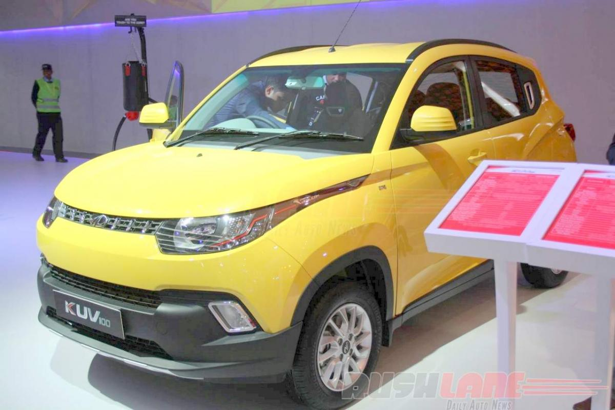 Nepal gets a glimpse of Mahindra KUV100 priced at Rs 16.87 lakhs