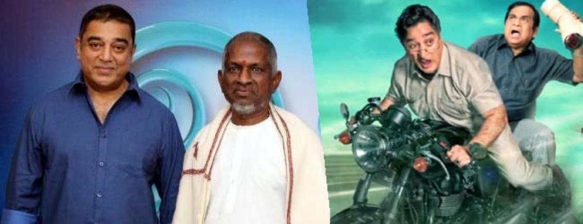 Kamal Haasan kicked about working with Illayaraja in Sabaash Naidu
