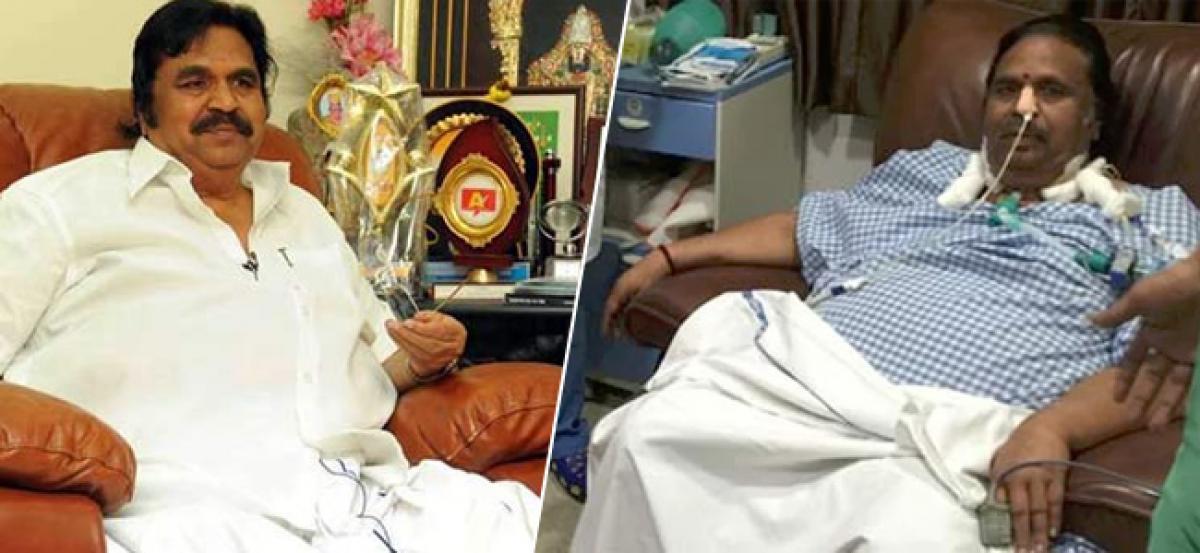 Veteran Director Dasari Narayana Rao no more