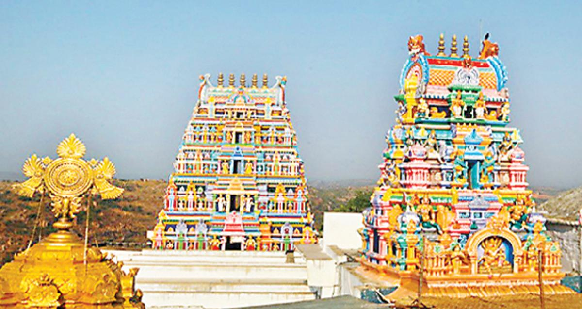Yadadri temple officials accused of turning stash into white