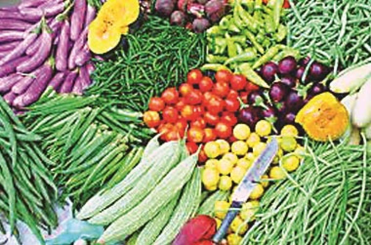 Vegetables become dearer