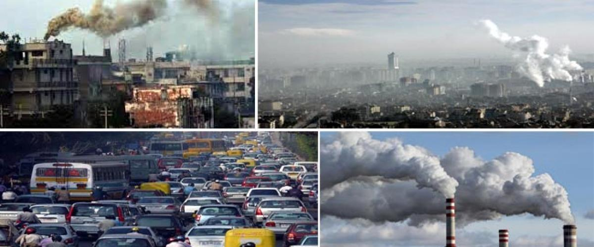 10 Indian cities among 20 Worlds 20 most polluted air