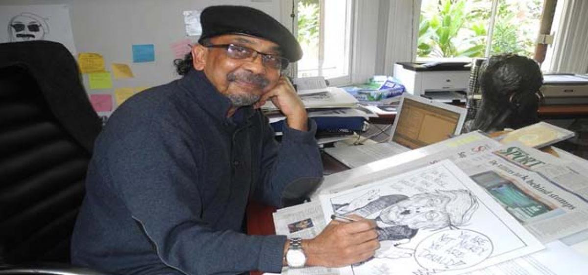South African orders cartoonist to shut his art school