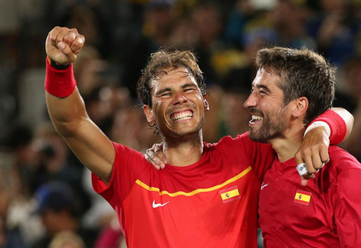 Rio Olympics: Nadal, Lopez score gold in mens doubles