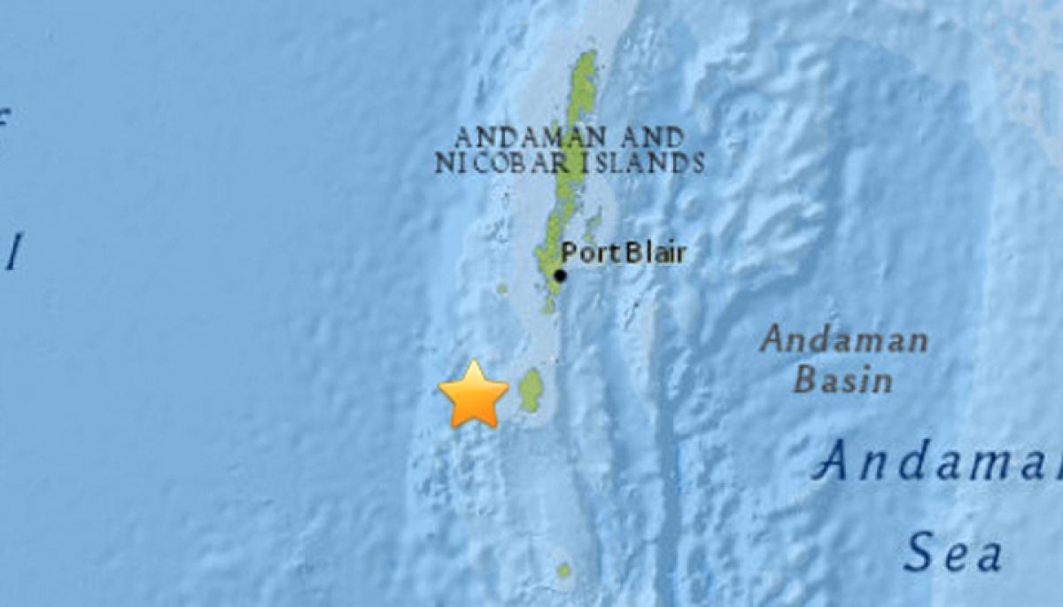 Andaman Nicobar Islands hit by eight earthquakes in a span of eight hours
