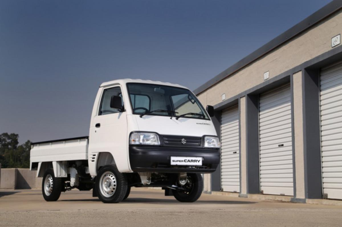 Maruti Super Carry LCV to take on Tata Ace, Mahindra Maxximo