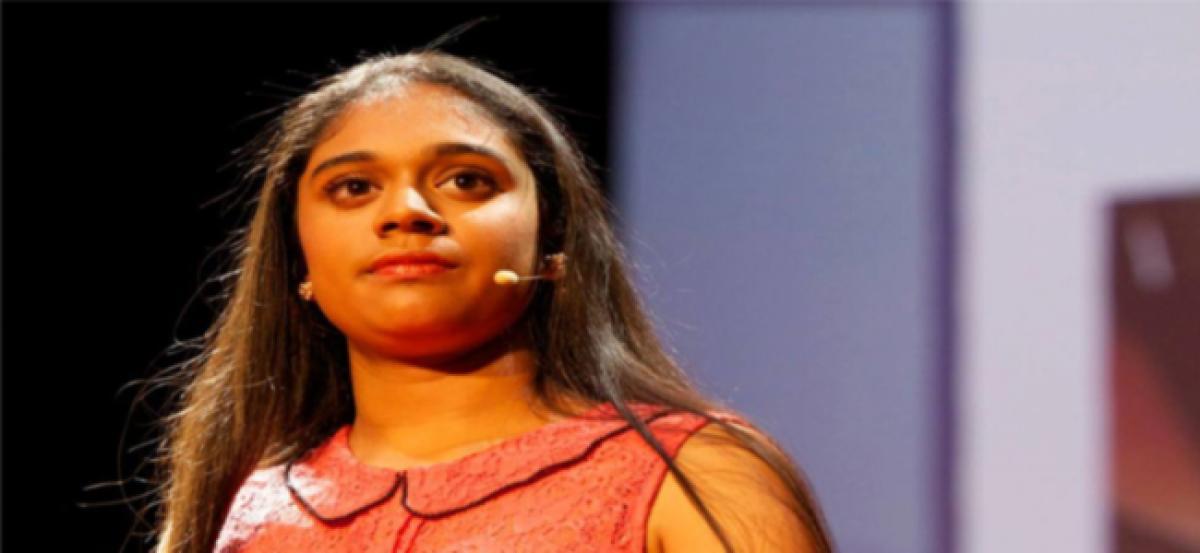 Indian-origin 13 Years Old Girl Invented Anti-School Bullying App