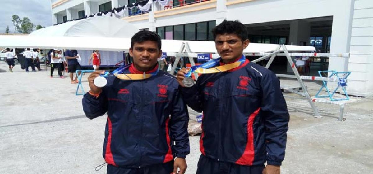 Telangana State rower makes waves in Thailand