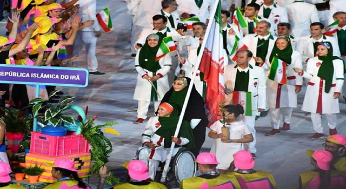 Gutsy Iran woman's Olympic feat.