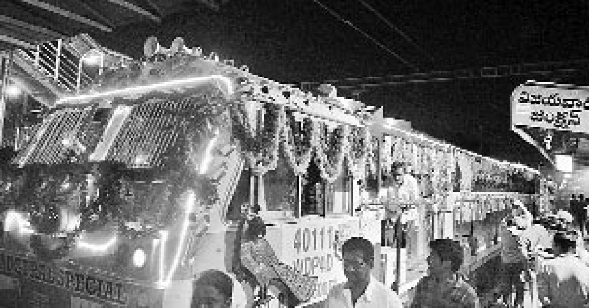 New Vijayawada Secunderabad Express launched