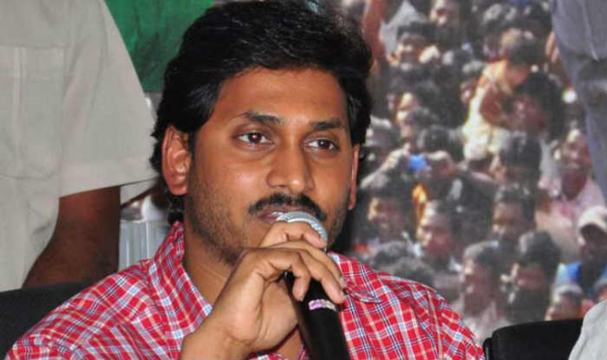 YS Jagan raises concerns of farmers in AP