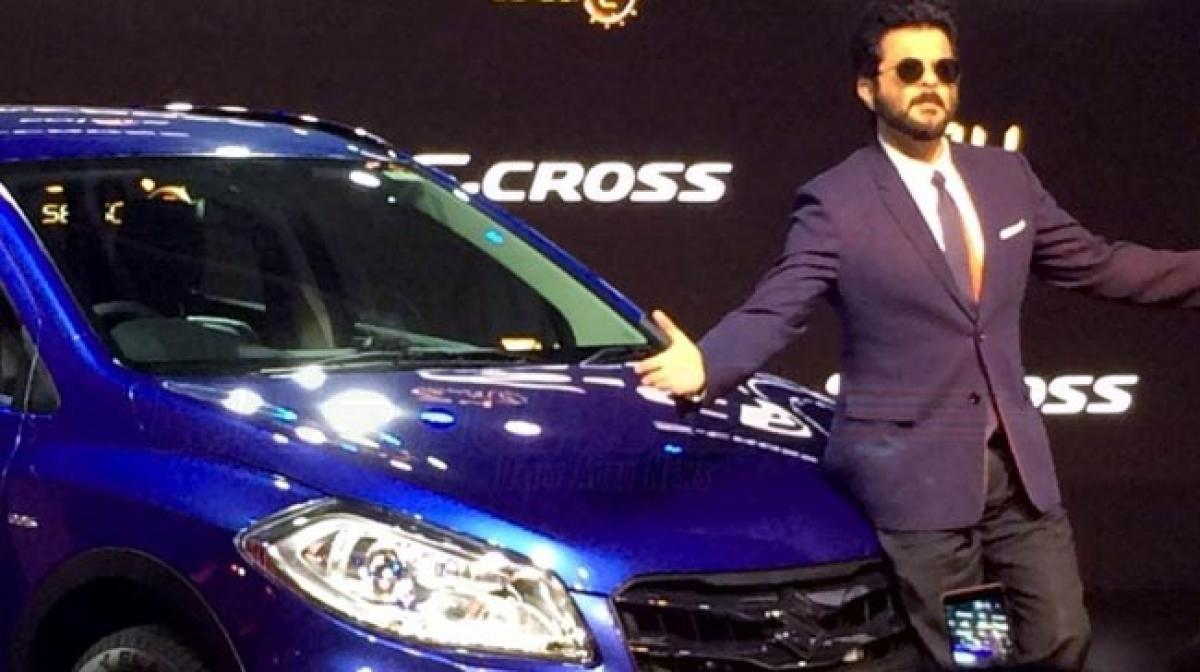 Anil Kapoor unveils Maruti S-Cross Limited Edition at 2016 Auto Expo