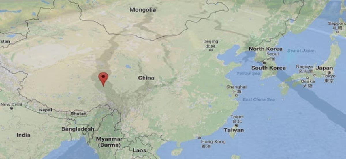 6.2-magnitute quake jolts China
