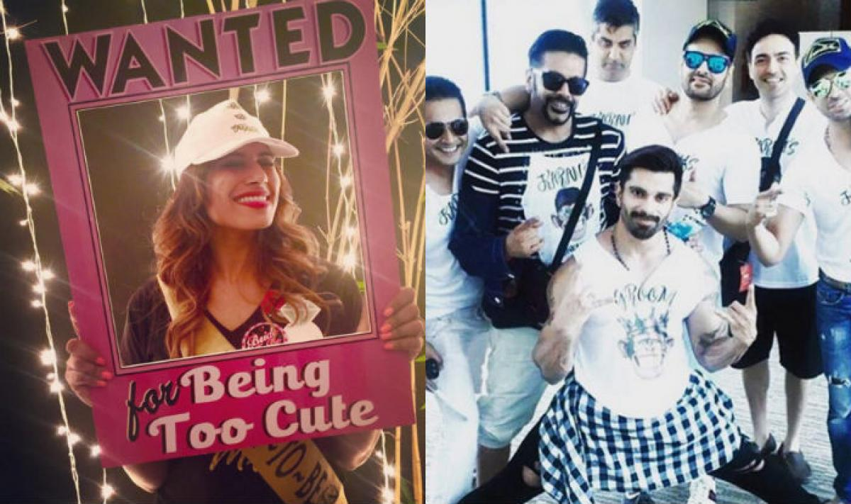 Bridal showers for Bipasha, Goa Bachelor party for Karan Singh Grover