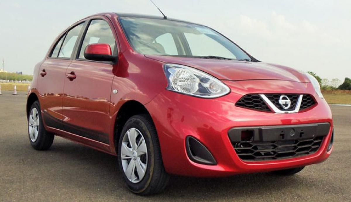 Nissan Micra X-Shift CVT launched at Rs 6.4 lakh