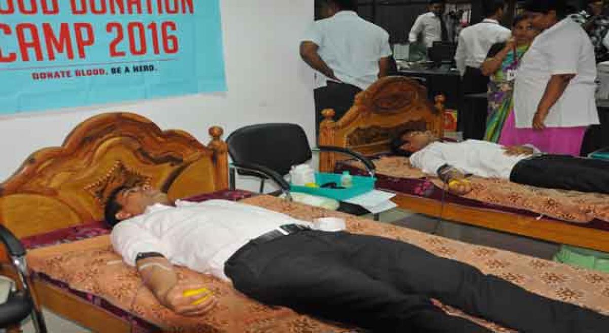 Joyalukkas organises camp in Vijayawada