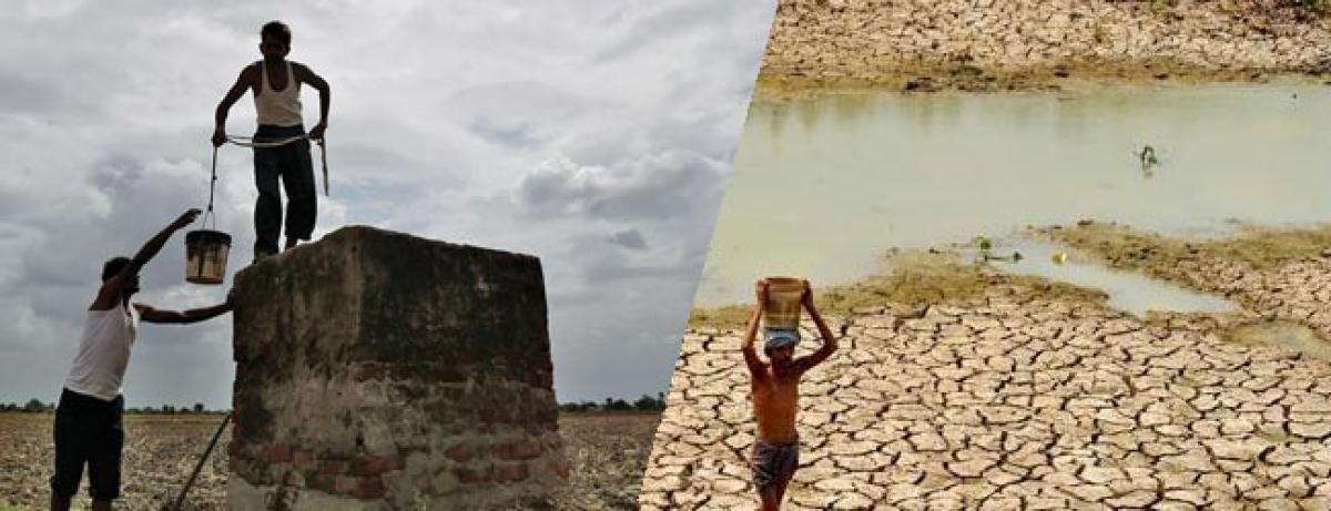 Severe drought triggered migration of farmers from Telangana and Rayalaseema region