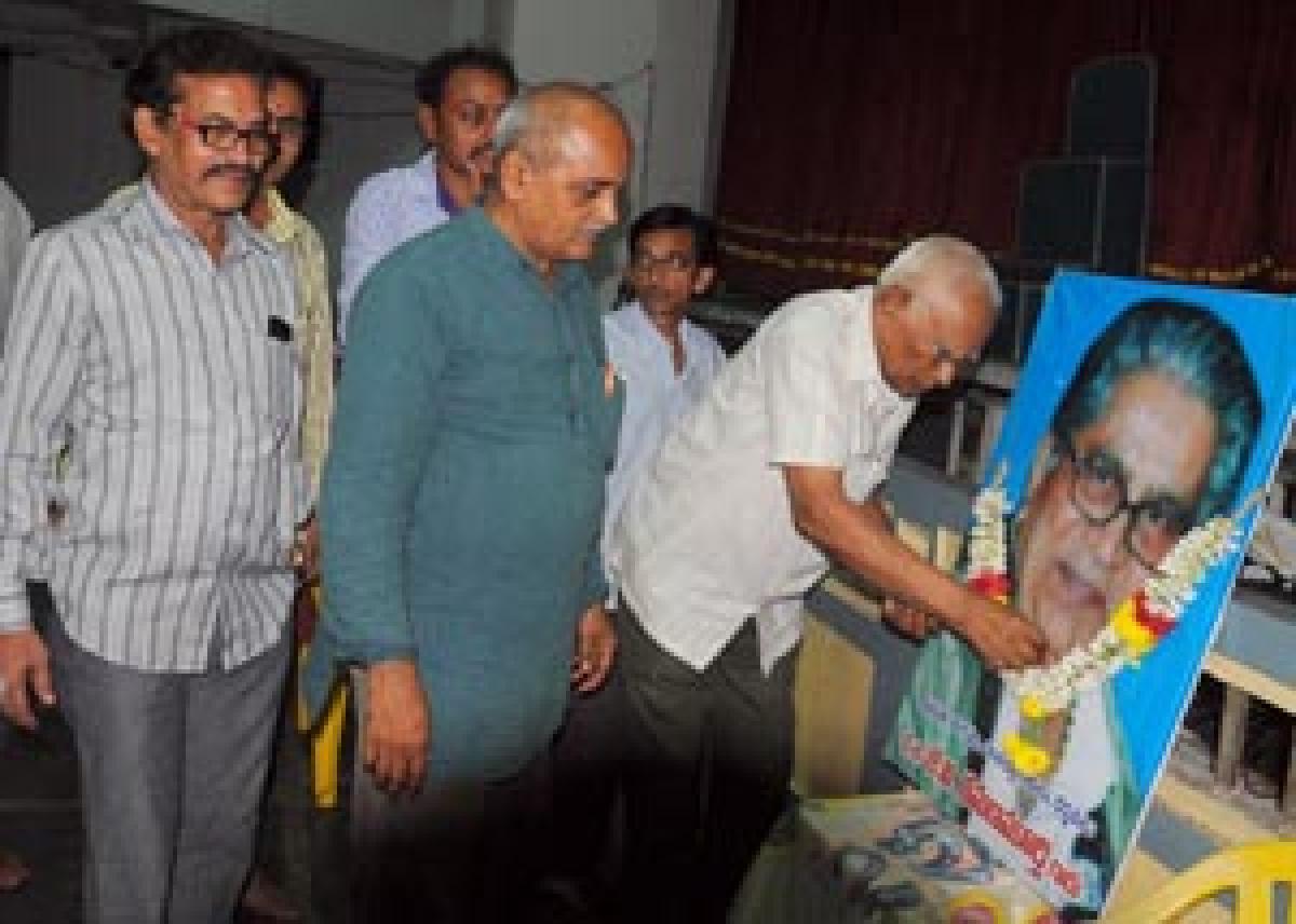 Tributes paid to Ramana Murthy