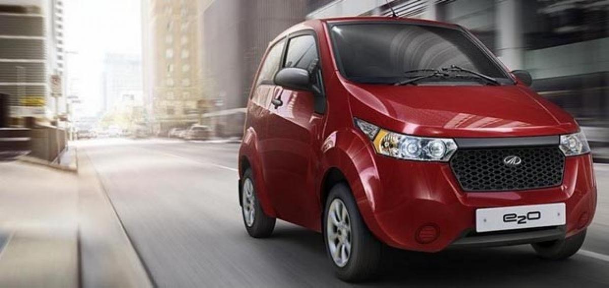 Union Government Plans to Boost Sale of Electric Vehicles in India