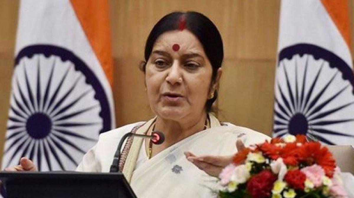 No report of Indian casualty in UK Parliament attack so far: Sushma
