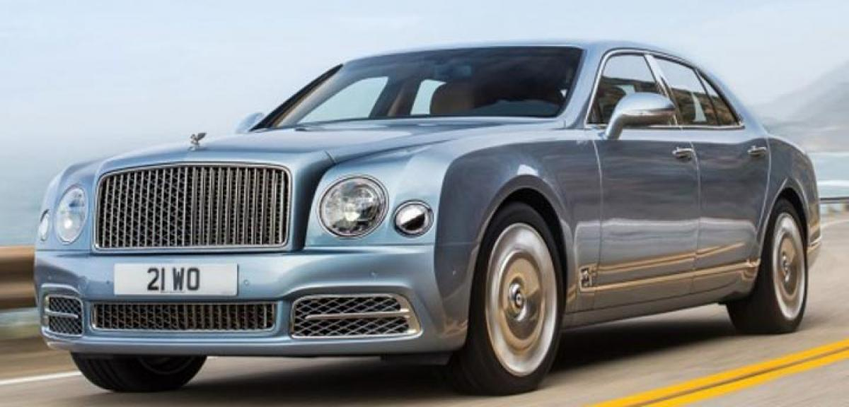 Bentley Mulsanne facelift revealed
