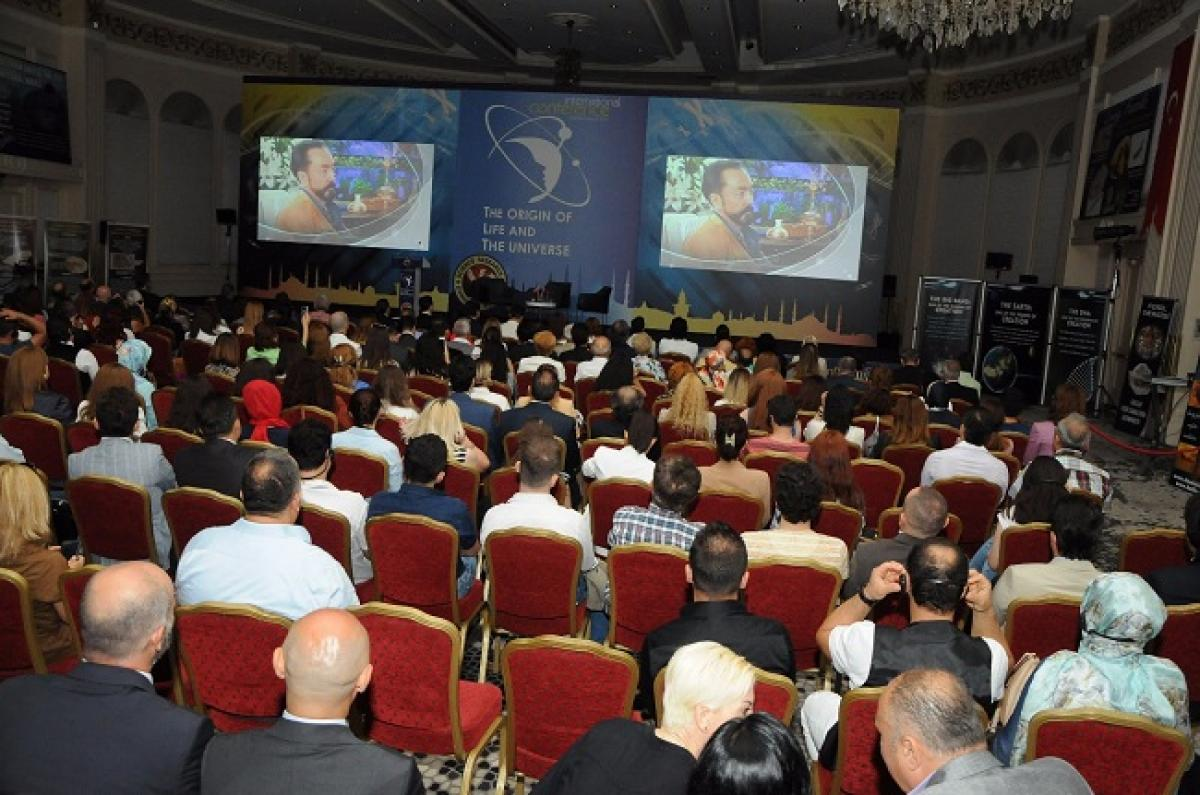 International Conference on the Origin of Life and the Universe held in Conrad Bosphorus Istanbul