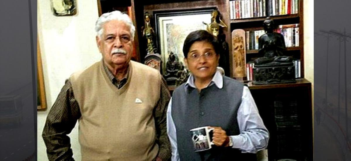 Kiran Bedis husband dead