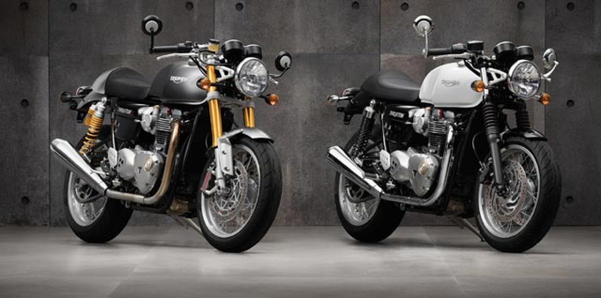 Triumph Thruxton R launched, priced at Rs 10.90 lakh