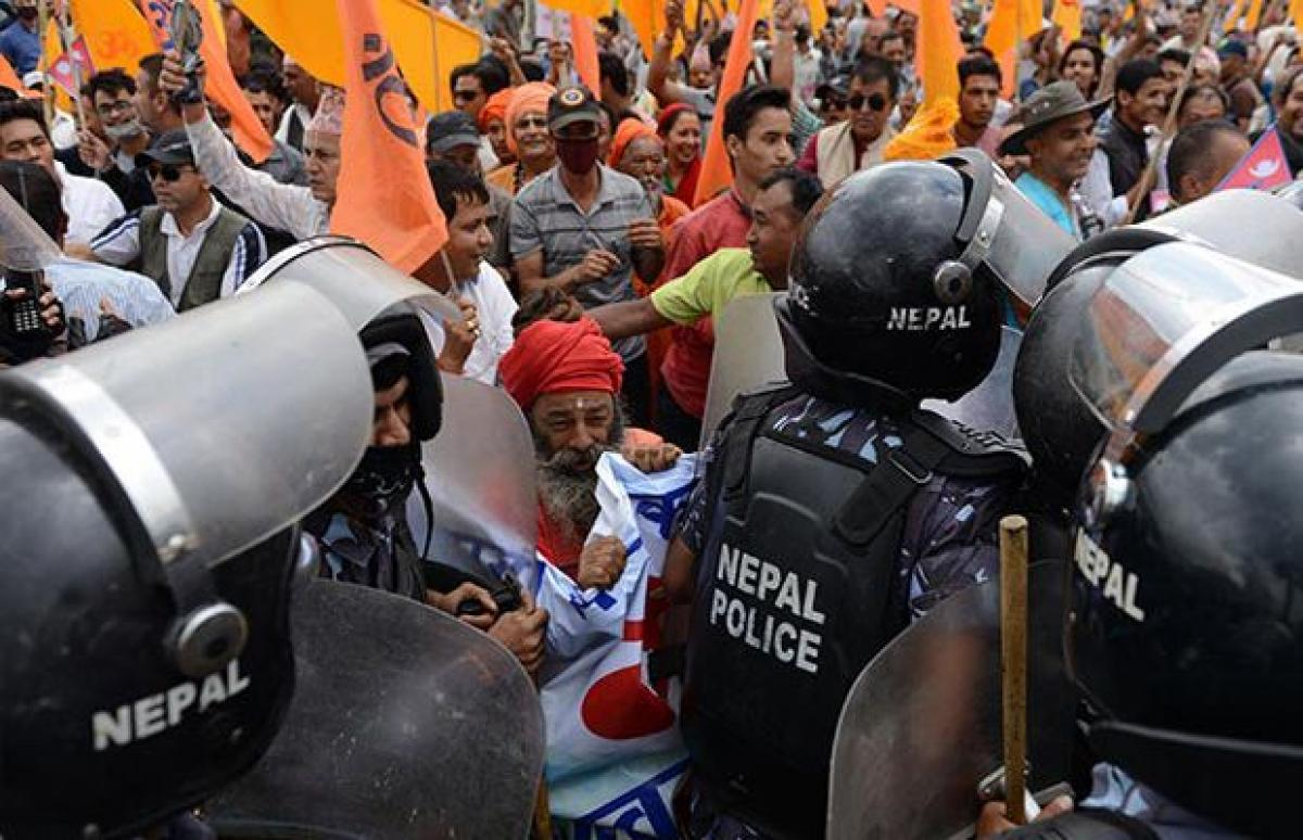 Protests after Nepal rejects proposal to declare itself a Hindu nation