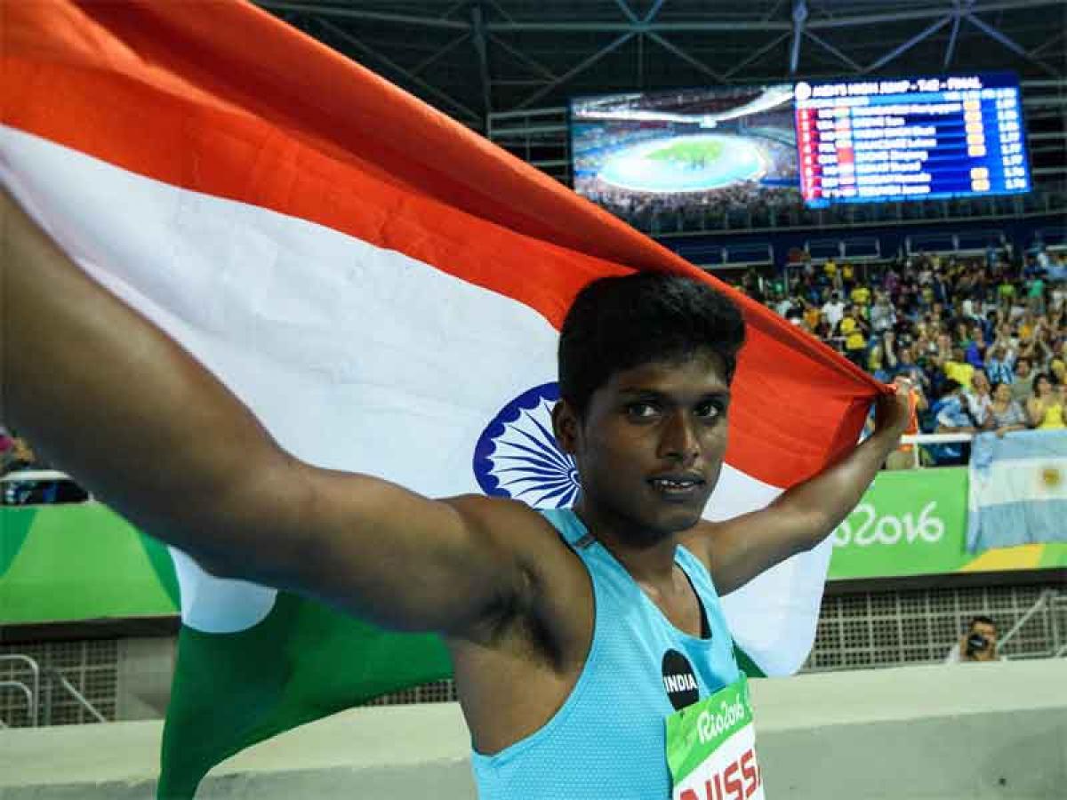 Rio Paralympics: Gold for Indias Mariyappan Thangavelu