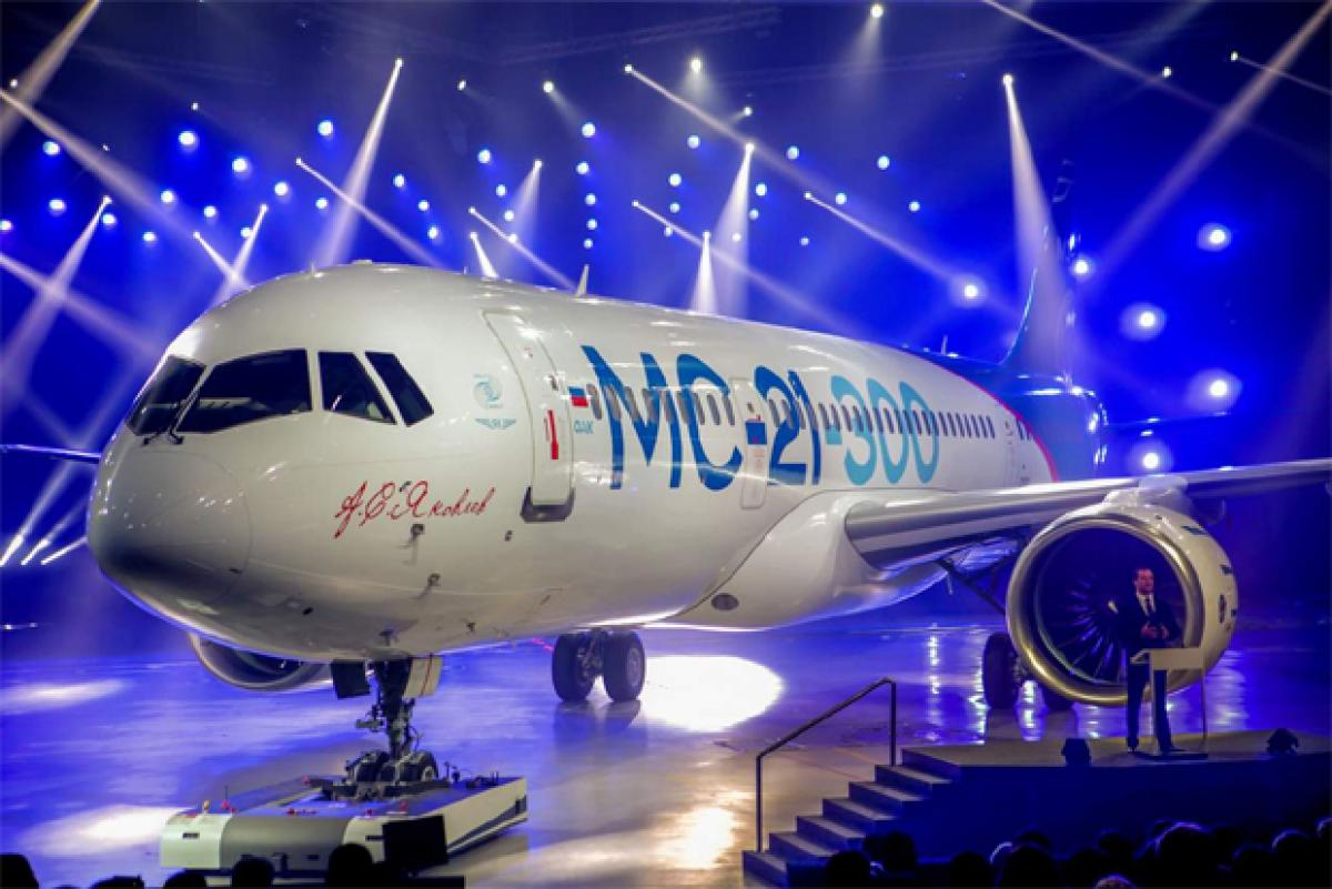 Check out: Russian Irkut MC 21 300 passenger plane to rival Boeing 737, Airbus A320