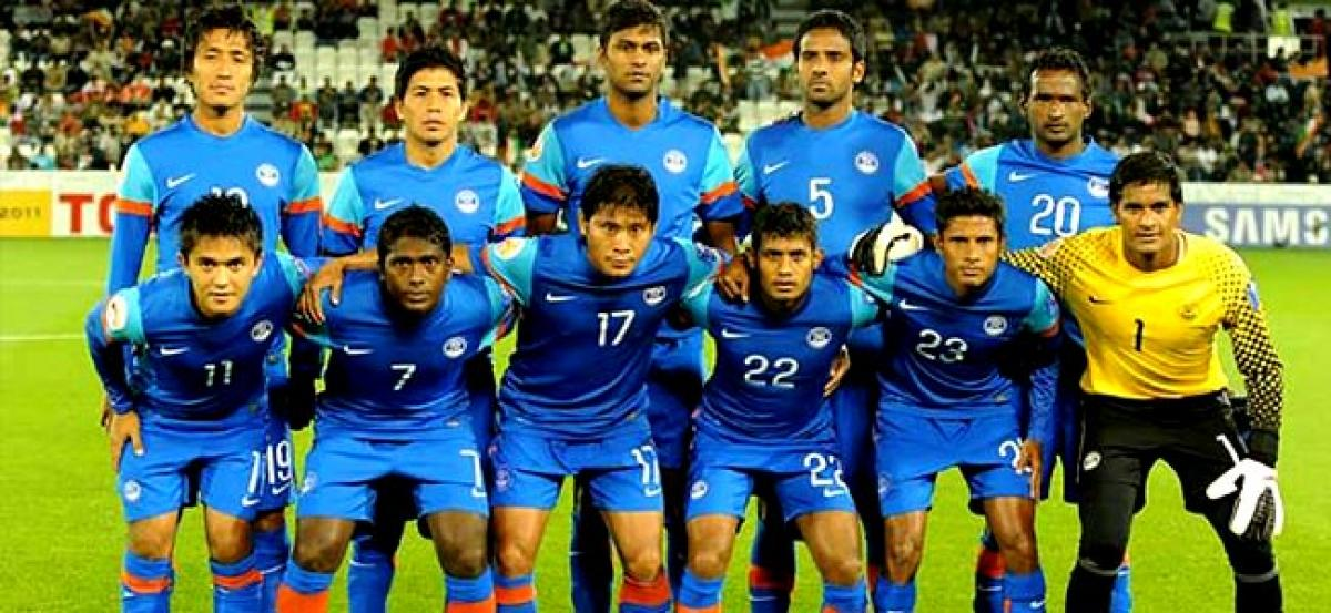 Indian climb 11 places to 137th spot in world football rankings