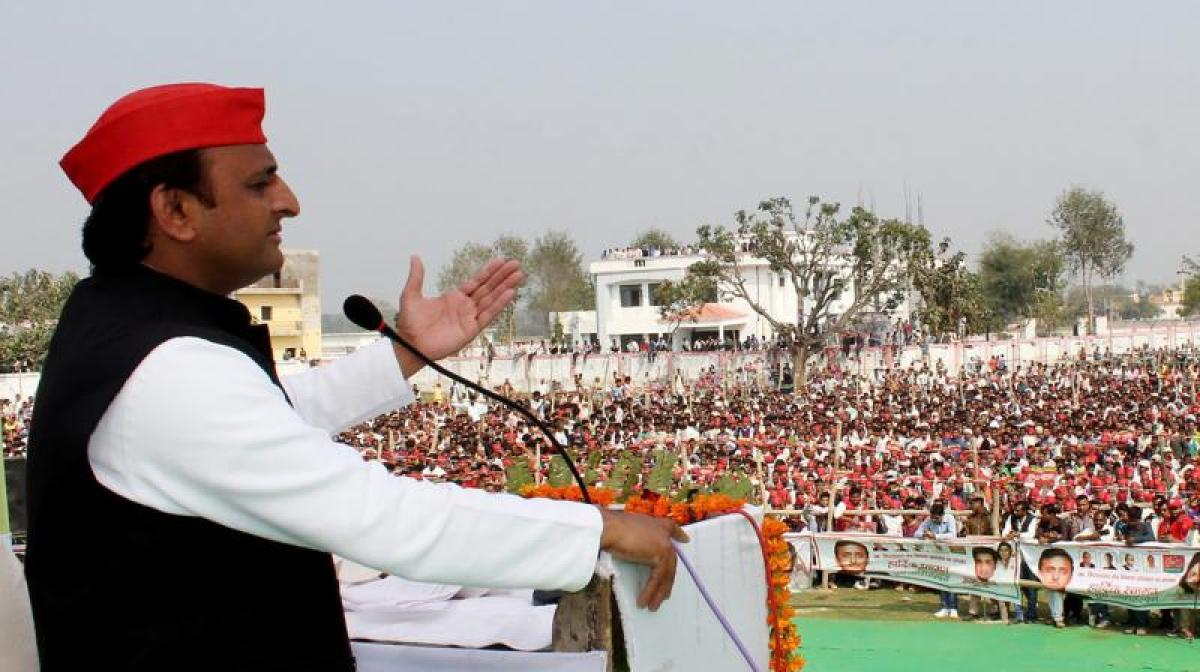 SP-Cong alliance a tie-up of youngsters, will change course of history: UP CM