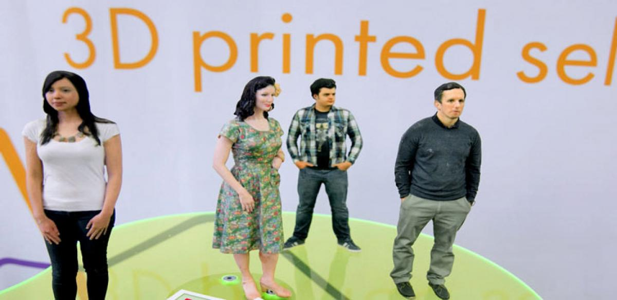 3D printed figurine the new way to take selfies
