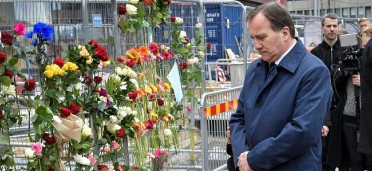 Sweden falls silent to honour truck attack victims