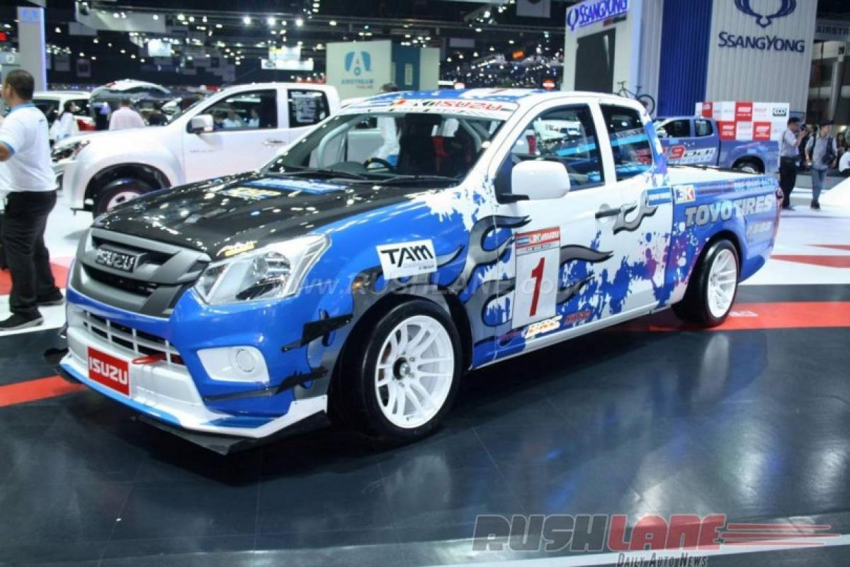 Check out: Isuzu D-Max One Make Race Truck features at Bangkok Motor show