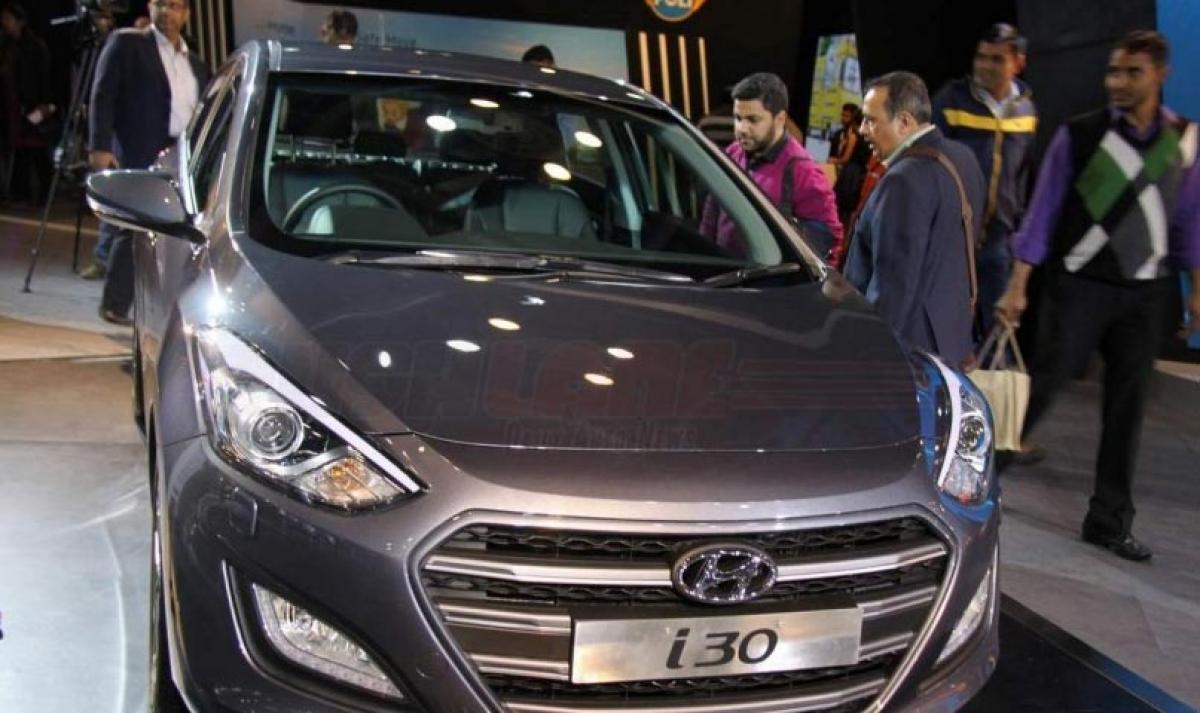 Hyundai i30 showcased at 2016 Auto Expo