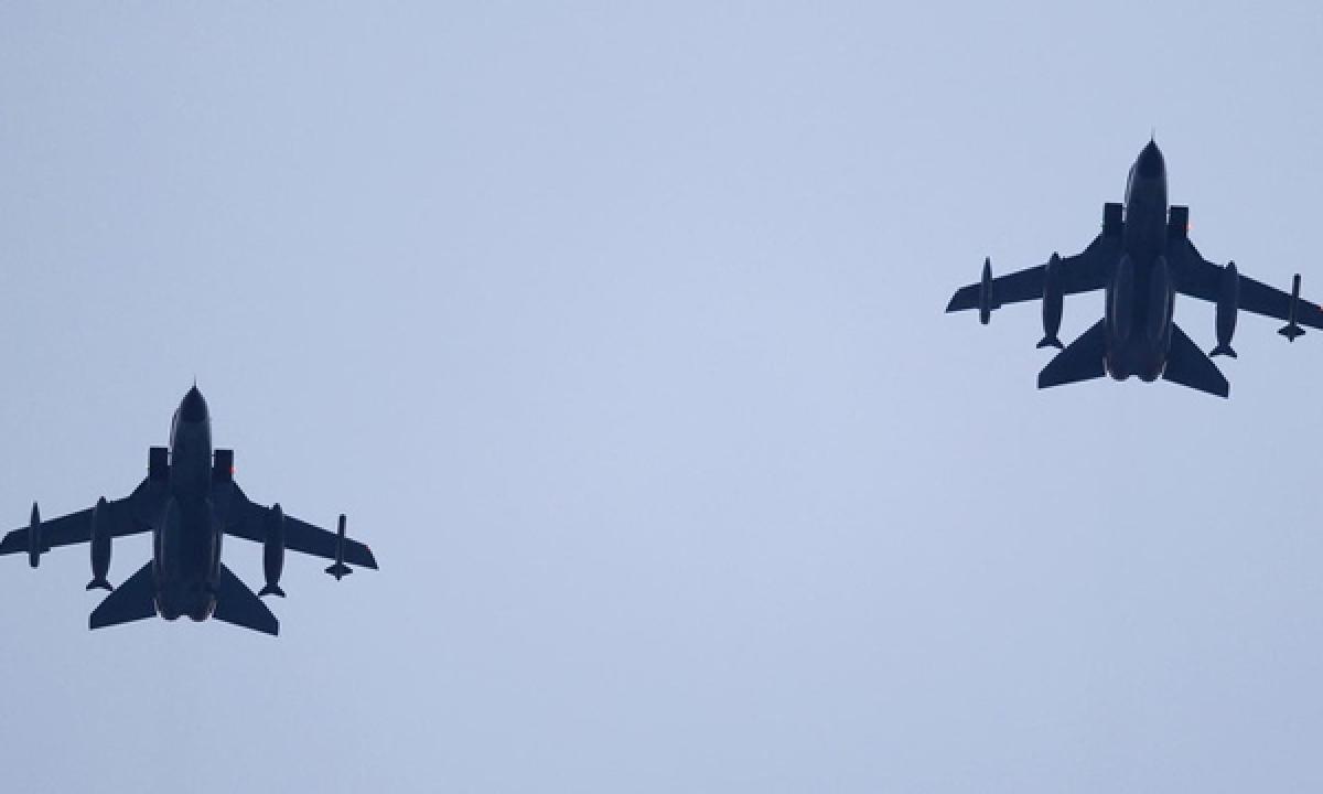 Turkish warplanes carried out air strike against kurdistan Workers Party